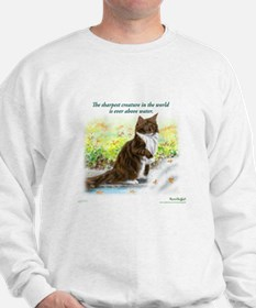 Wonderful sharp skogkatt Sweatshirt