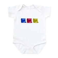 Color Row Lowchen Baby Bodysuit