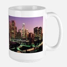 Los Angeles Night Lights Large Mug