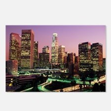 Los Angeles Night Lights Postcards (Package of 8)
