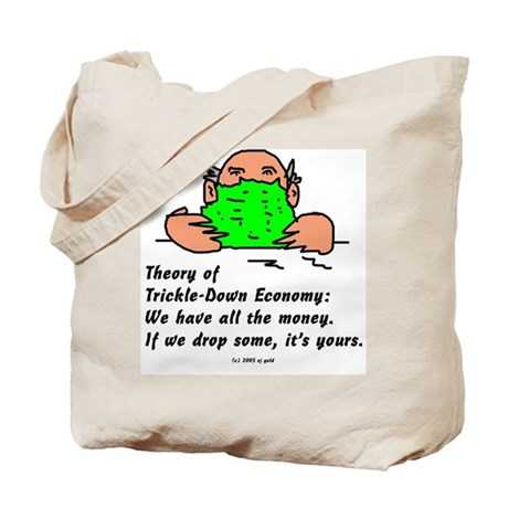 Trickle-Down Tote Bag