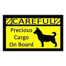 Precious Cargo Lancashire Heeler Sticker (Rect)