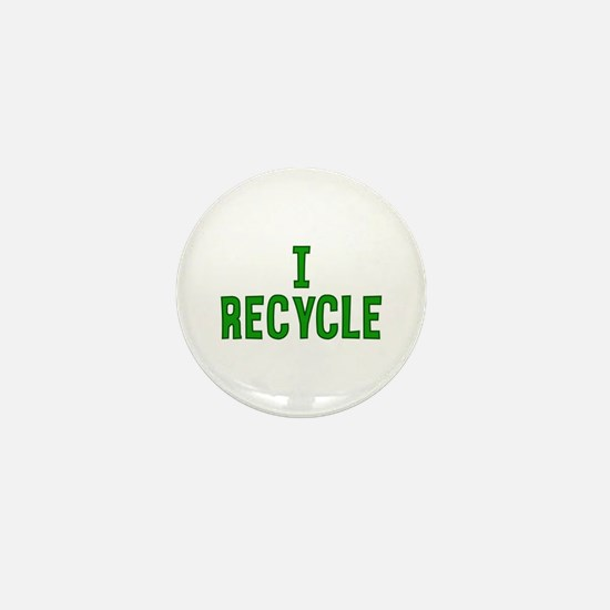 I Recycle Mini Button (100 pack)