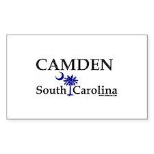 Camden South Carolina Rectangle Decal