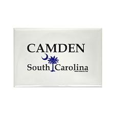 Camden South Carolina Rectangle Magnet