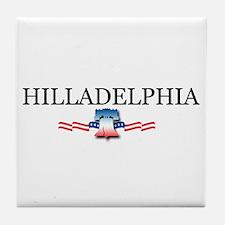 Hilladelphia, Pennsylvania Tile Coaster