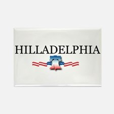 Hilladelphia, Pennsylvania Rectangle Magnet