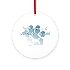Lancashire Heeler Granddog Ornament (Round)