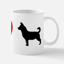 I Heart Lancashire Heeler Mug