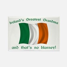 Ireland's Greatest Grandma Rectangle Magnet