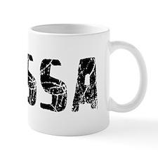 Elyssa Faded (Black) Mug