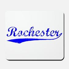 Vintage Rochester (Blue) Mousepad