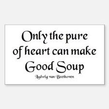 pure make soup Decal