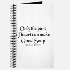 pure make soup Journal