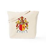 Hirschfeld Family Crest Tote Bag