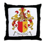 Hirschfeld Family Crest Throw Pillow