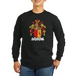 Hirschfeld Family Crest Long Sleeve Dark T-Shirt