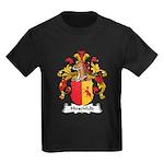 Hirschfeld Family Crest Kids Dark T-Shirt