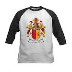Hirschfeld Family Crest Kids Baseball Jersey