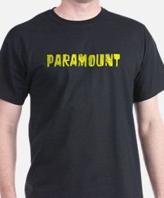 Paramount Faded (Gold) T-Shirt