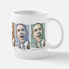 Obama 2008 Collage Small Small Mug