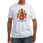 Hillenbrand Family Crest Fitted T-Shirt