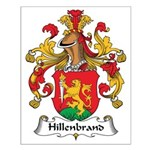 Hillenbrand Family Crest Small Poster