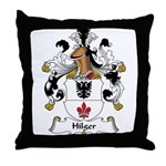 Hilger Family Crest Throw Pillow