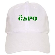 Esperanto Labels Baseball Cap