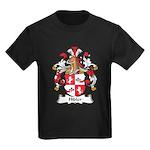 Hibler Family Crest Kids Dark T-Shirt