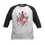 Hibler Family Crest Kids Baseball Jersey
