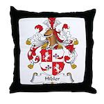 Hibler Family Crest Throw Pillow