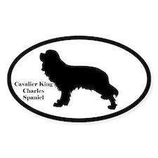 Cavalier King Charles Spaniel Silhouette Decal
