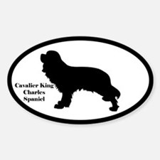 Cavalier King Charles Spaniel Silhouette Decal