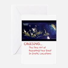 Cruising Greeting Card