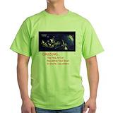 British virgin islands Green T-Shirt