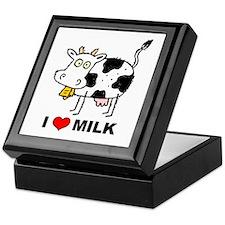 I Love Milk Keepsake Box