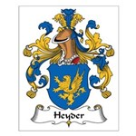Heyder Family Crest Small Poster