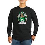 Hetzler Family Crest Long Sleeve Dark T-Shirt