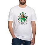 Hetzler Family Crest Fitted T-Shirt