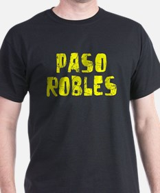 Paso Robles Faded (Gold) T-Shirt