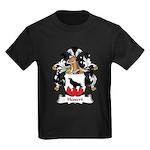 Hessert Family Crest Kids Dark T-Shirt
