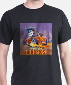 Rat Rod Day of the Dead ,Mariachi T-Shirt
