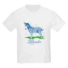 Labrador Butterflies T-Shirt