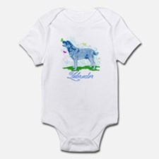Labrador Butterflies Infant Bodysuit