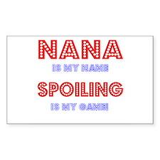 nana Rectangle Decal