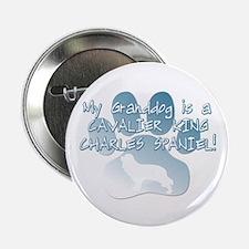 Cavalier Granddog Button