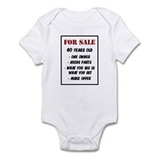 For Sale 40 Years Old Infant Bodysuit