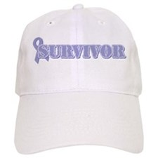 Lavender Ribbon Survivor Baseball Cap