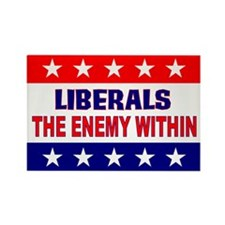 The Enemy Within Rectangle Magnet